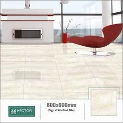 Ceramic Gloss Digital Vitrified Polished Tiles, Thickness: 10 mm, Size: 600X600 mm