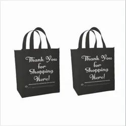 Thank You Printed Stitch Non Woven Tote Bags