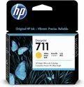 HP INK CARTRIDGE 711 YELLOW