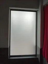 Modern Gray Aluminum Window, Size/Dimension: 6*6