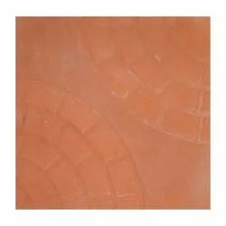 Red Square Floor Tile