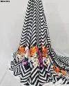 Amazing Flora Sartin Silk Digital Print Fabric
