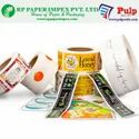 Cosmetic & Healthcare Labels Self Adhesive Pre Printed Stickers
