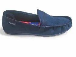 Blue Comfort Foam Mens 5 Oceans Casual Canvas Loafer Shoe, Size: 8