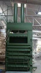 Single Chamber Double Cylinder Baler Machine
