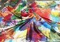 Silk Digital Scarves