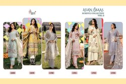 Shree Fab Cotton Pakistani Suits, For Party Wear