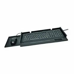 Computer Keyboard With Tray