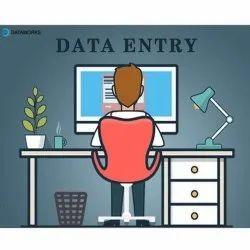 30 Days Offline Data Entry Form Filling Process, Service Provider