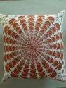 Embroidery Mandala Boho Decorative Throw Pillow Case Cotton