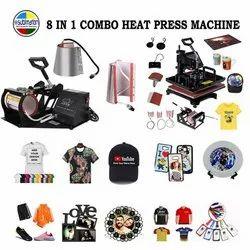 8 In 1 Sublimation Heat Press Machine