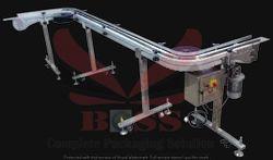 90 Degree Bend Conveyor In Profile