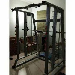 counter balanced smith machine with power rack