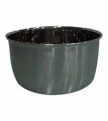 Silver Round Stainless Steel Bowl