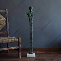 Metal Human Statue