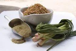 Cymbopogon Citratus 18 Month Dried Lemongrass Powder, Packaging Size: 25 Kg, Packaging Type: Plastic Hdpe Bag