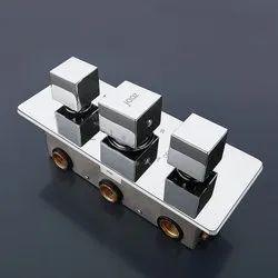 Thermostatic Mixer & Diverter -4 Diverter
