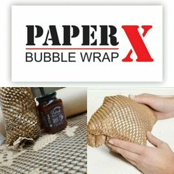Eco Friendly Bubble Wrap Rolls Paper X