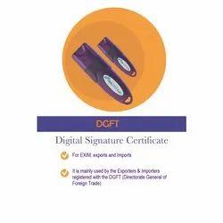 DGFT Digital Signature Certificate Service
