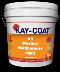 White KAY-COAT Solar Reflective Paint