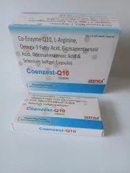 Co-Enzyme Q10, L- Arginine, Omega 3 Fatty Acid, EPA+DHA SG, Conezest Q-10