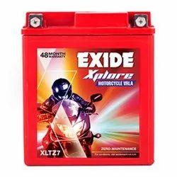 Capacity: 7Ah EXIDE FXL0-XLTZ7 XPLORE Battery
