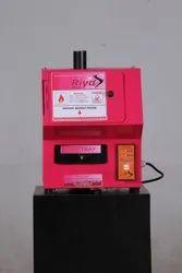 Feminine Sanitary Napkin Disposal Machine