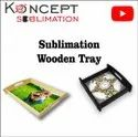 Sublimation Wooden Tray