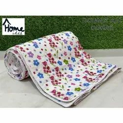 Cotton Printed Double Bed AC Dohar Blanket