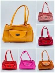 MIX MODELS AND MIX COLOURS TRENDY ATTRACTIVE LADIES HAND BAGS - SNT-313