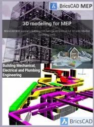BRICSCAD MEP - Building Mechanical, Electrical and Plumbing Engineering Software