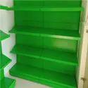 Micro Sheet Green Fruit And Vegetable Rack, Capacity: 120kg