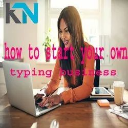 11 Month How To Start Your Own??Typing Business From Home, Data Entry, India