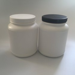 HDPE Ayurvedic Powder Jar