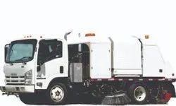 Mild Steel JBW Road Sweeper Truck, 7495 Kg