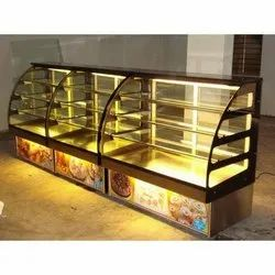 Non Ac Sweet Display Counter