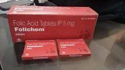 Folic Acid Tablets 5 gm