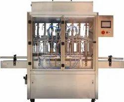 Automatic Six Head Viscous Liquid Filling Machine