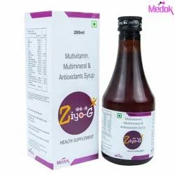 200 ML Multivitamin Multimineral And Antioxidants Syrup