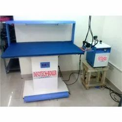 Vacuum Ironing Table With Portable Boiler, 2 Kw