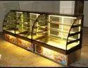 Rectangular Glass Display Counter