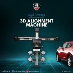 Automatic 3D Wheel Alignment Machine, Model Name/Number: AS-3D-Race2