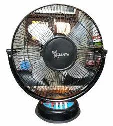 Black Ajanta Table Fan, 300 mm