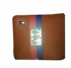 Brown Bi Fold Men Leather Wallet, Card Slots: 6