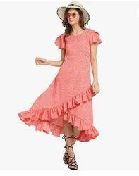 Printed One Piece Dress