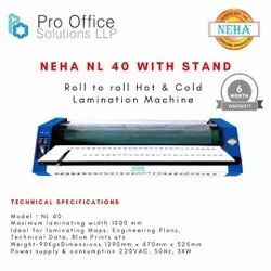 Neha Roll To Roll Paper Lamination Machine