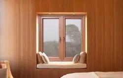 SIMTA ATRIX Light Oak Laminated Coloured uPVC Windows & Doors, Glass Thickness: 5MM