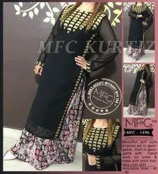 Skirt Cum Sharara Dress