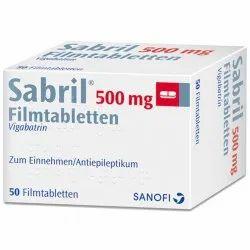 Sabril Vigabatrin Film Coated Tablets