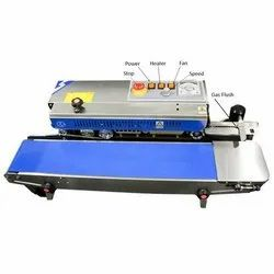Continuous Band Sealer With Nitrogen Flash